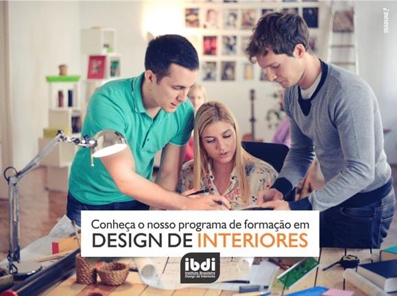 formação profissional em design interiores